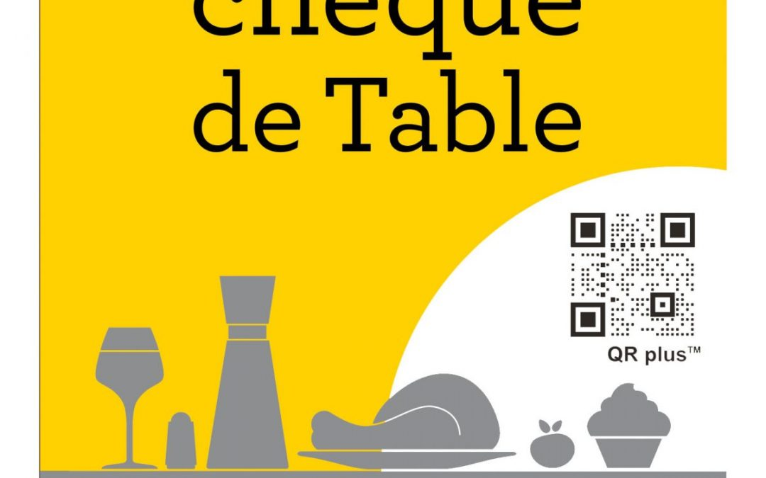 Partenariat Chèque de Table