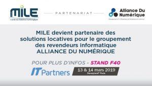 Retrouvez Mile et ADN à l'IT Partners 2019 - stand F40