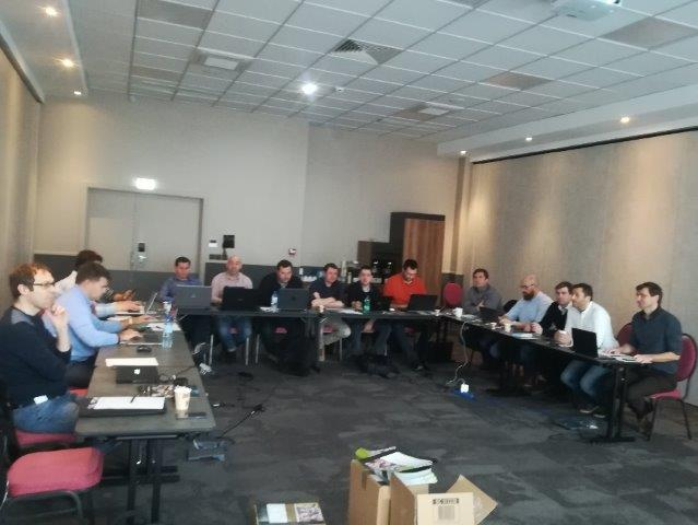Réunion ADN avant l'IT Partners à Paris