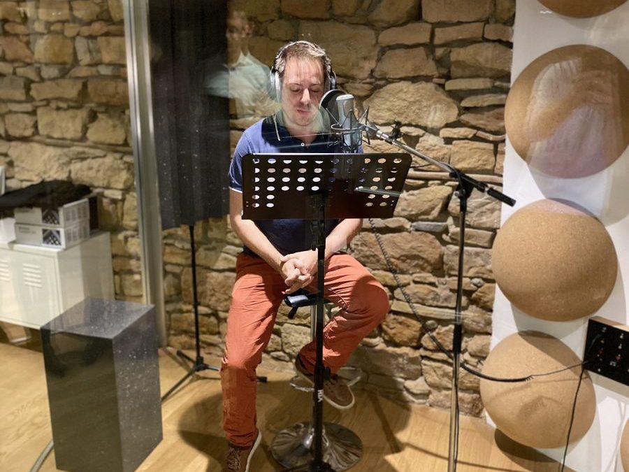 Séance d'enregistrement chez ATS Studio